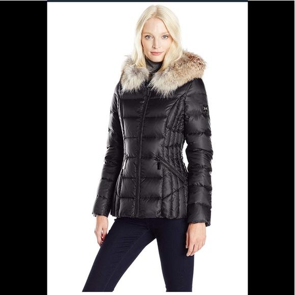 f6a7c7db1b0 dawn levy Jackets   Blazers - Dawn levy niki short down coat hooded  black